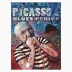 Picasso's Blues Period (version 2) by digitaldog