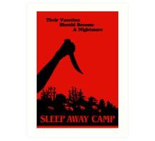 Sleepaway Camp Vintage Art Print