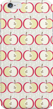 vintage apple pattern by demonique