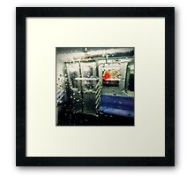 Not in Service Framed Print