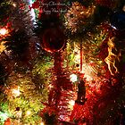 A little bit of Christmas - greeting card by CarlaSophia