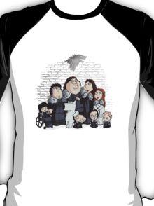 Family Guy in Stark game of thrones T-Shirt