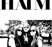 Haim poster by therationalcat