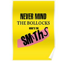 Nevermind the Bollocks, Here's The Smiths Poster