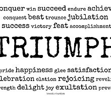 triumph~ by Brandi Burdick