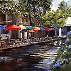"""River Walk"" by Lynn  Abbott"