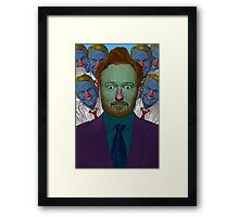 Conan O'Brien Culture Cloth Zinc Collection Framed Print