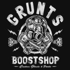 Grunts Boost Shop by Brandon Wilhelm