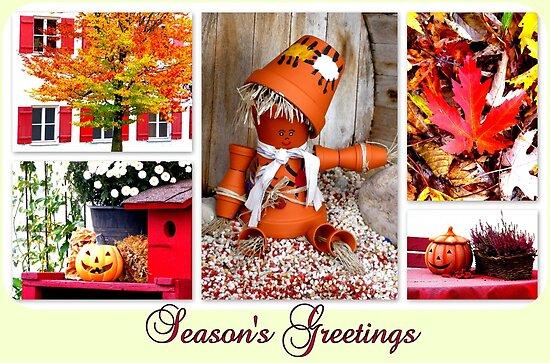Season's Greetings ~ Halloween by ©The Creative  Minds