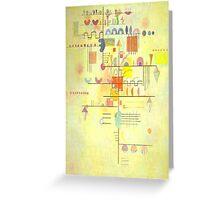 Kandinsky - Gentle Ascent Greeting Card