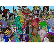 Pop Culture Collage by Culture Cloth Zinc Collection Photographic Print