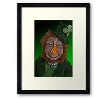 Leprechaun by Culture Cloth Zinc Collection Framed Print