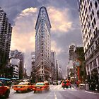The Flatiron Building by John Rivera