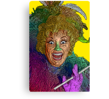 Phylis Diller by Culture Cloth Zinc Collection Canvas Print