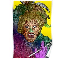 Phylis Diller by Culture Cloth Zinc Collection Poster