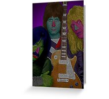 Spinal Tap by Culture Cloth Zinc Collection Greeting Card