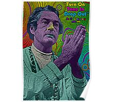 Timothy Leary by Culture Cloth Zinc Collection Poster