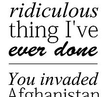 Sherlock - You Invaded Afghanistan by ffiorentini