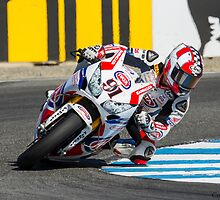 Leon Haslam at Laguna Seca 2013 by corsefoto