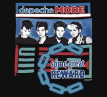 Depeche Mode Some Great Reward Shirt by Shaina Karasik