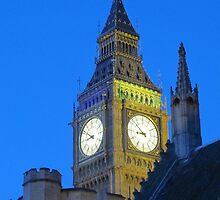 Big Ben and Parliament by helenpartlow