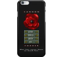War has never been so much fun iPhone Case/Skin