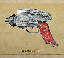 Raygun 011 by Garabating
