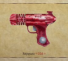 Raygun 016 by Garabating