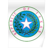 Texas Barbie | State Seal | SteezeFactory.com Poster