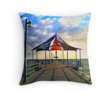 Brighton Beach, Adelaide Throw Pillow