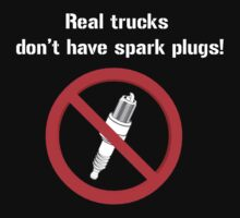 Real trucks don't have spark plugs! by bigredbubbles6
