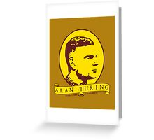 Alan Turing Greeting Card