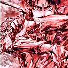 Attack on Titan: Eren on iPhone Case by Ruo7in