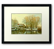 Pull's Ferry, Norwich, England Framed Print