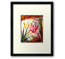 Welcome To Mars Framed Print