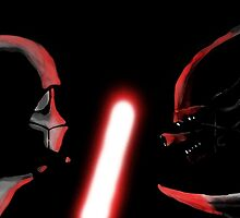 Darth Vader vs Alien by Jakeparker0