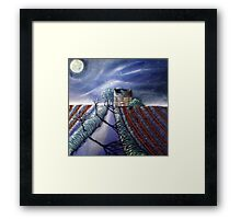 Twilight Furrows on Keld Spring Lane Framed Print
