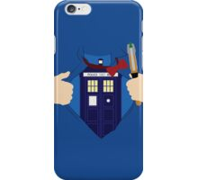 Truth, Justice and... Doctor Who? iPhone Case/Skin