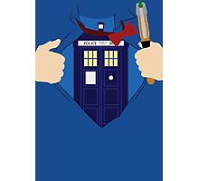 Truth, Justice and... Doctor Who? Photographic Print