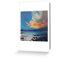 Blustery Sky Greeting Card