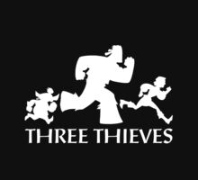 Three Thieves Logo (Dark) by Scott Chantler
