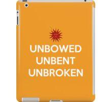 House Martell Unbowed Unbent Unbroken iPad Case/Skin