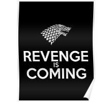 House Stark Revenge Is Coming Poster