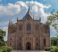 Saint Barbara's Church. by FER737NG