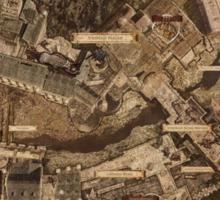 Dark Souls Map Sticker