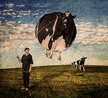 Bovine Balloon by Julie Begg