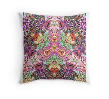 Arc & Texture Throw Pillow