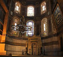 The Nave, Hagia Sophia by Barbara  Brown