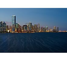 Miami Skyline Photographic Print