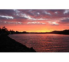 Tweed River Red ... Photographic Print
